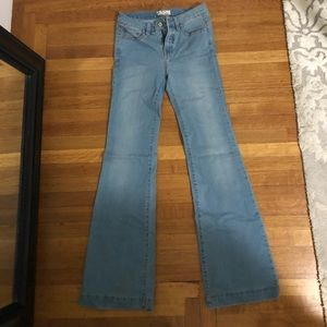 Free People Bell-Bottom Jeans